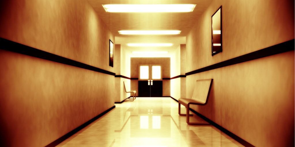 haunted psychiatric hospital